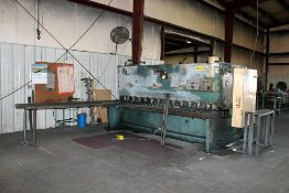 "Amada 1/2""x10' Mechanical Shear Model #H-3013"