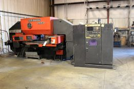Amada PEGA-344Q Triple Track CNC Turret Punch Press 30 Ton Capacity; 350 SPM Model #PEGA-304040 c/w: