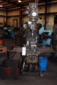 "Bridgeport 1.5 HP Turret Mount Milling Machine c/w: Indexing Table 9""x42"""