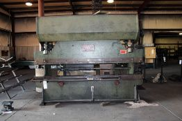 Chicago Dreis & Krump Mechanical Press Brake 36-55 Ton x 10' Model #810-B