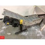"""Dyna Con S/S Incline Conveyor, 5' x 18"""", Model 12VS60080P, S/N 50867101 Rigging: $125"""