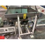2012 Eriez Vibratory Feeder, Model HD56C, S/N 304012, 115 Volt Rigging: $350