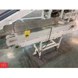 """Portable Power Conveyor, 5' x 18"""" Rigging: $125"""