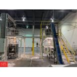 Mezzanine, 14' x 14', with Stairs Rigging: Call For Details