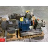 Fristam Positive Displacement Pump, Model M082214 0BNN1A, S/N 005 Rigging: $75