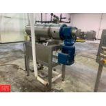 BCH Viscolator (SSHE) with 30-Rope Extruder, 600 kg/hr Rigging: $500