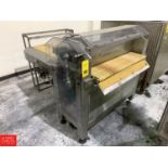 BCH Guillotine and S/S Cooling Line Parts with Conveyor Drives, Controls, 17 m X 800 mm Rigging: $