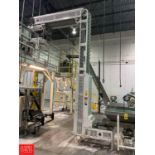 Bucket Elevator Conveyor with Painted Frame and Drive Rigging: Call For Details