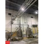 Assorted S/S Pipe, Located Over Mix Tanks Rigging: $1500