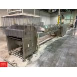 BCH S/S Cooling Tunnel and Conveyor, 17 m x 800 mm Rigging: Call For Details