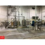 BULK BID Lots 33 to 40; Mixing and Cooling Line to Include: (2) S/S Mixing Tanks, (2) Pumps, (1) S/S