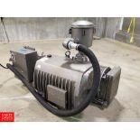 Busch 25 HP 490CFM, Vacuum Pump Model PA0630.B4Z6.1127, S/N C B135