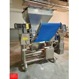 """2012 Agnelli Sheeter Model A/540, S/N S 905. 652 with Powered Conveyor, 23"""" X 23 .5 , with Control"""