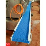 "Dorner S/S Frame Conveyor , 34'6"" L, 14""Wide, with Interlox Belt And S/S Gear Drne"
