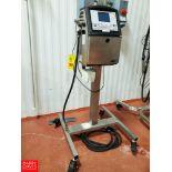 Videojet Ink Jet Coder Model 1520,S/N 1233664C22ZH,240V,1PH,120W Rigging Fee: $ 125
