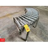 """S/S 45 Degree Roller Type Conveyor, Aprox 10' X 22"""" Rigging Fee: $ 100"""