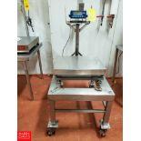 Measuretek 150 LB Capacity Portable S/S Washdown Digital Scale Rigging Fee: $ 40