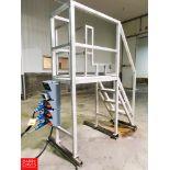Aluminum 3-Step Platform Rigging Fee: $ 150