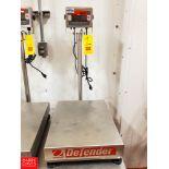 Ohaus 150 LB Capacity S/S Digital Scale Model Defender 3000 Rigging Fee: $ 40