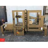 Magnum 700 Case Former and Magnum 5800 Top and Bottom Case Sealer **SUBJECT TO BULK BIDDING**