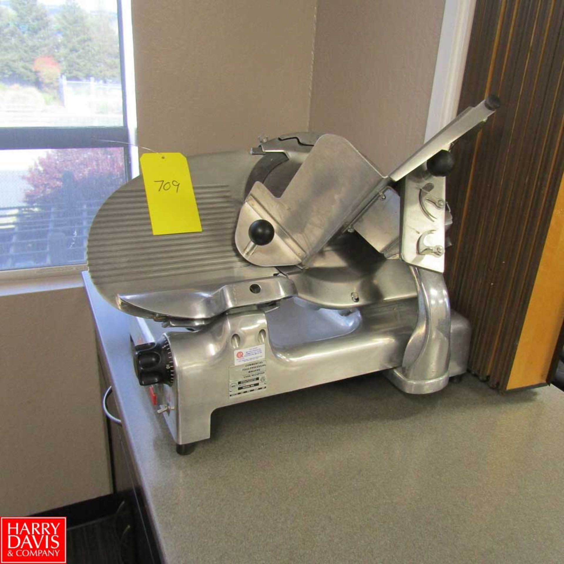 Lot 709 - Commercial Food Processing Company Slicer Model 909 Rigging Fee: 25