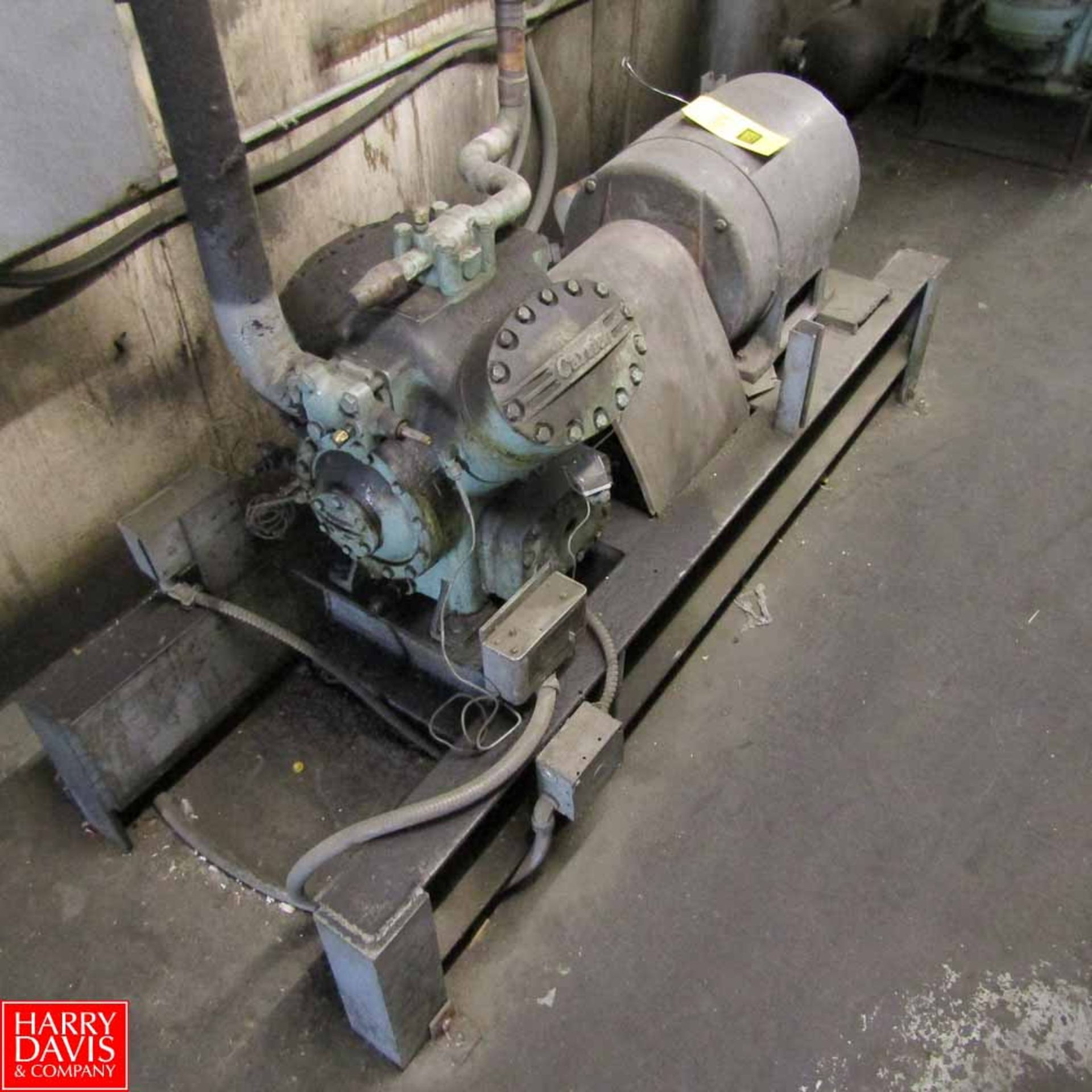 Lot 459 - Carrier Compressor Rigging Fee: 500