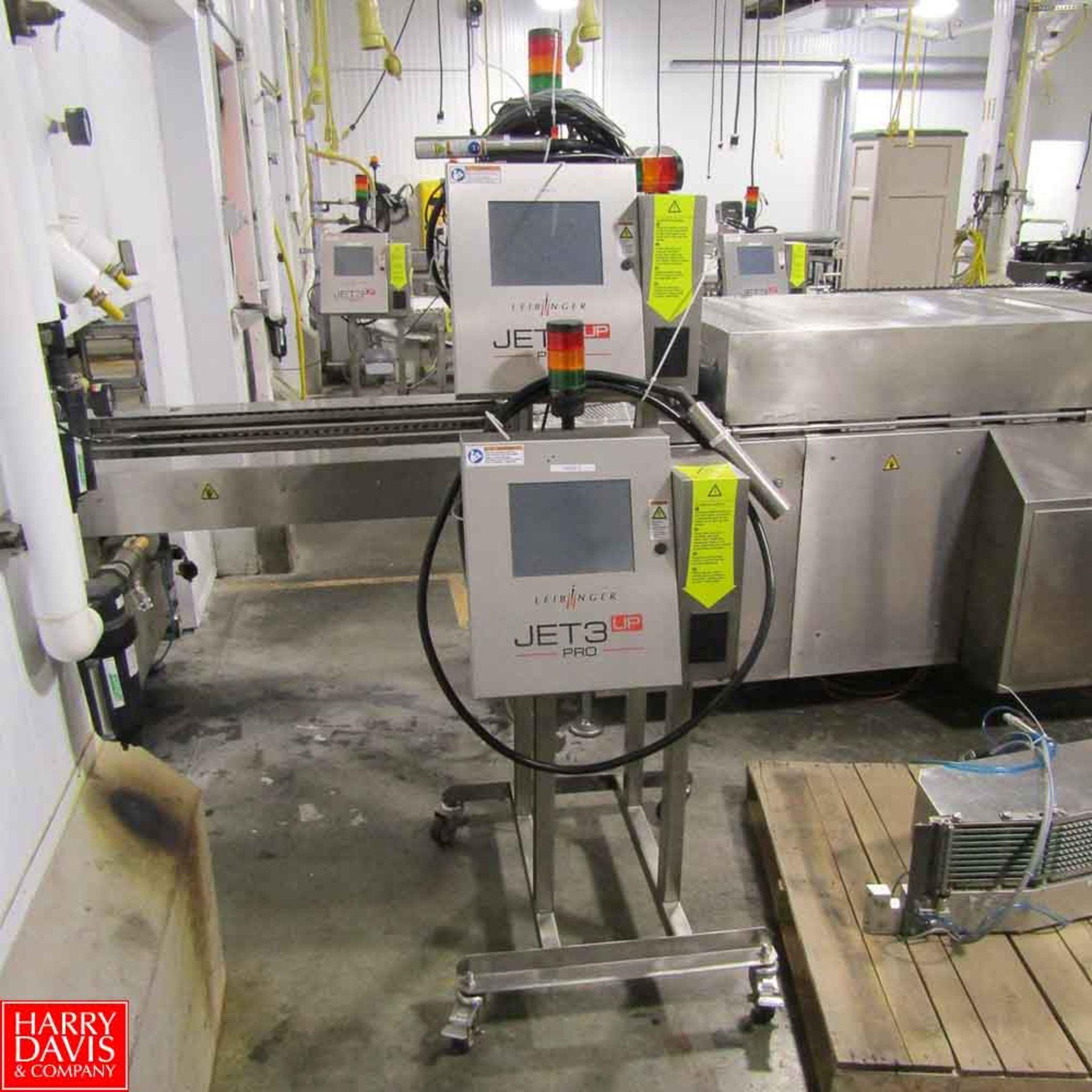 Lot 29 - Leibinger Inkjet Printer Model JET 3 UP PRO Rigging Fee: 250