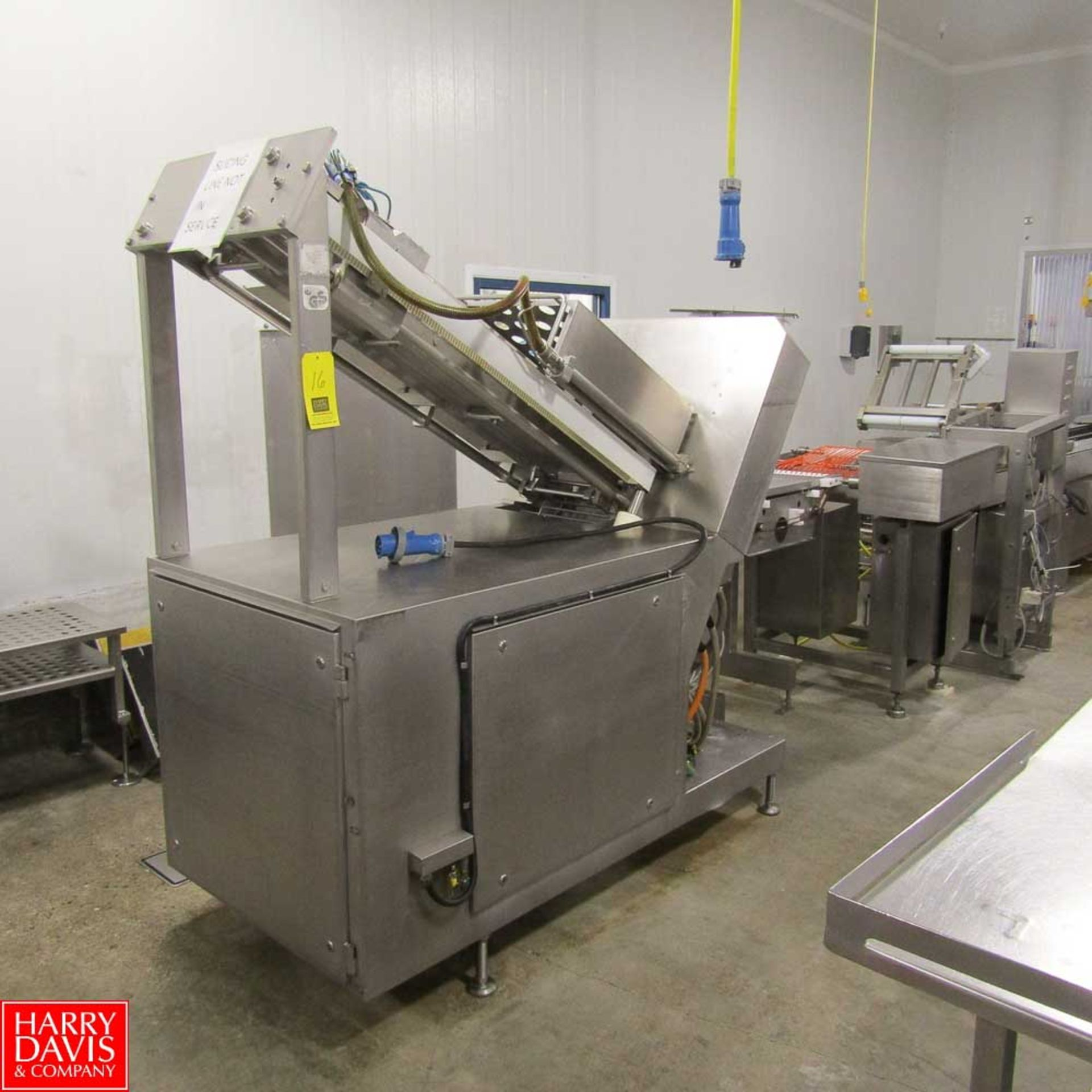 Lot 16 - GS Slicer Model SL-495 with Weight Scale and Rejector Unit Rigging Fee: 250