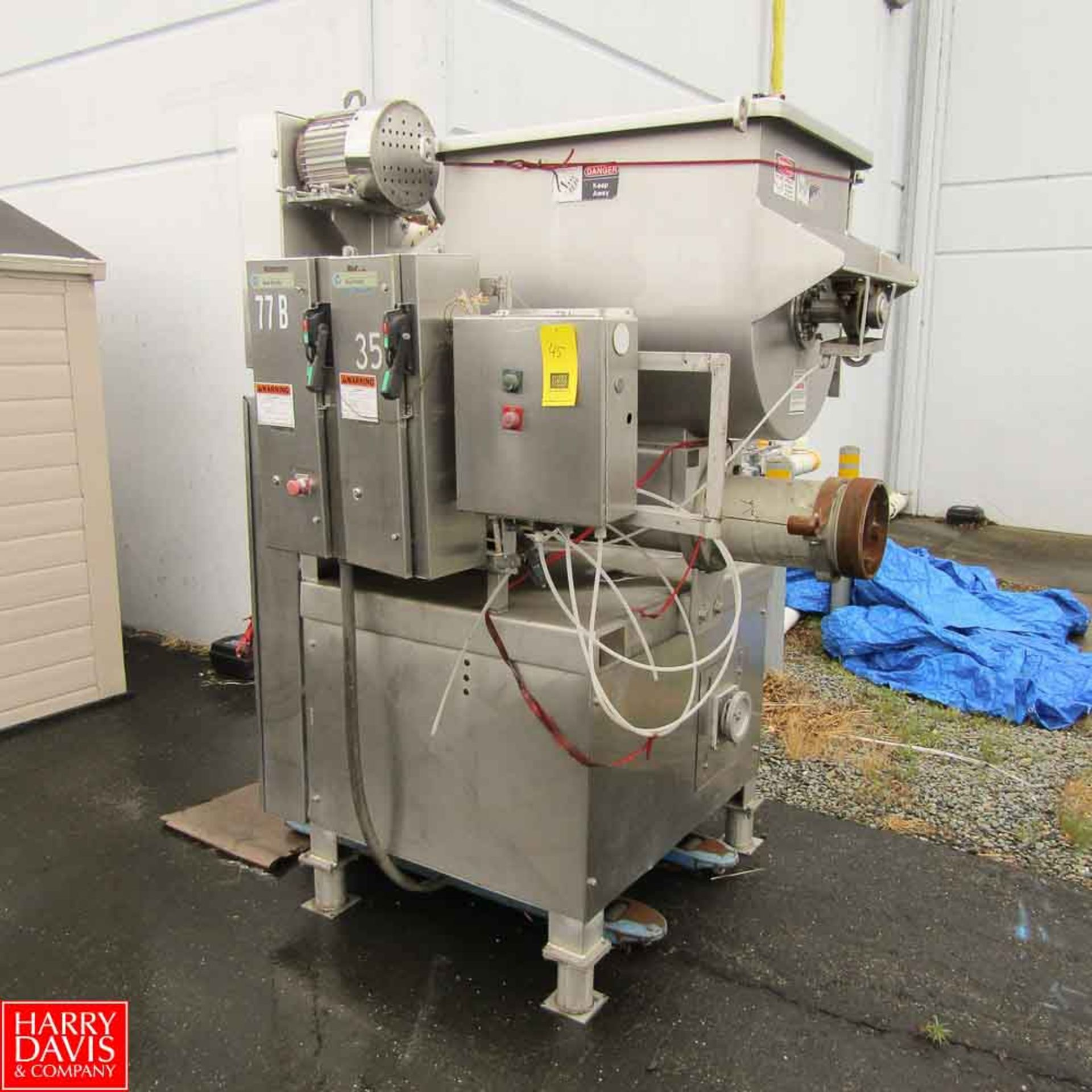 Lot 45 - Weiler Grinder Model 878AG : SN 87-299 Rigging Fee: 500