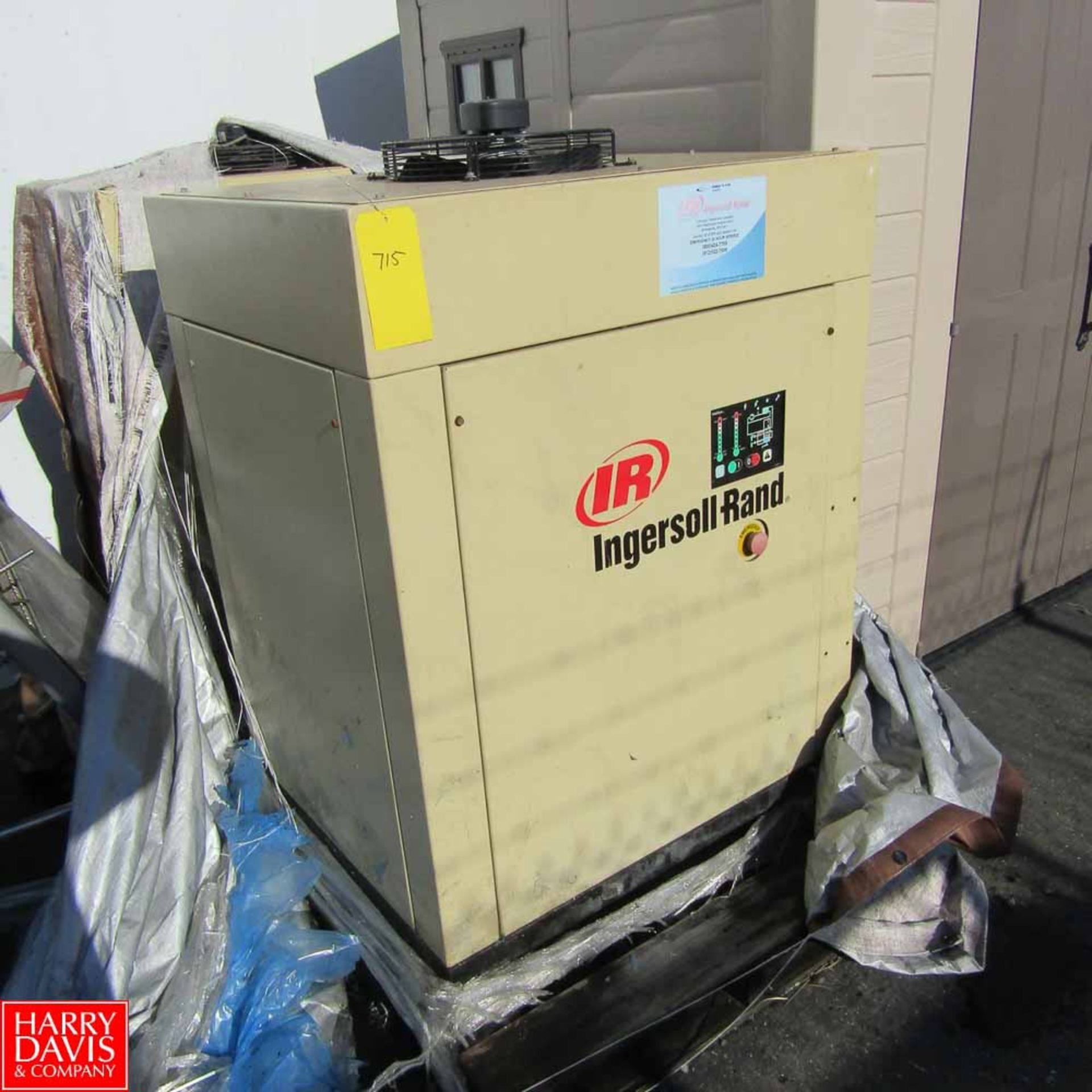 Lot 715 - Ingersoll Rand Air Dryer Model TS2A Rigging Fee: 100