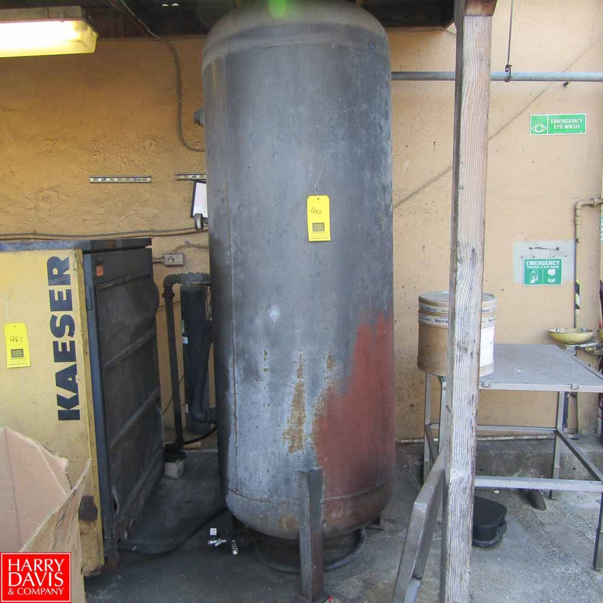 Lot 468 - Summit Air Receiving Tank Rigging Fee: 250