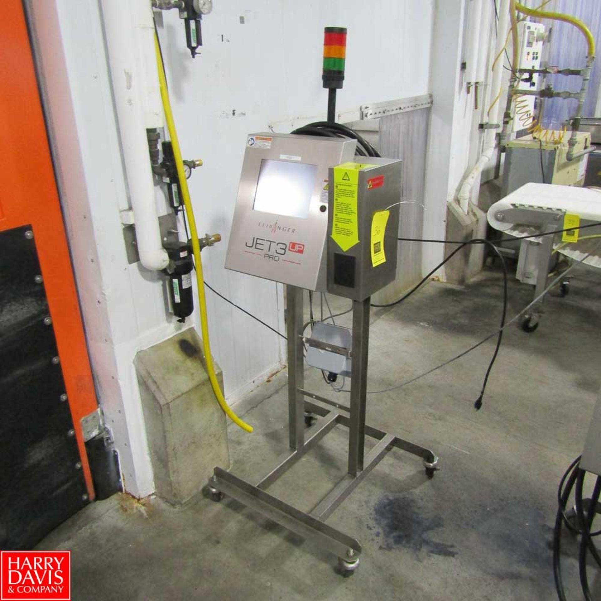 Lot 36 - Leibinger Inkjet Printer Model JET 3 UP PRO : SN LJ-333365 Rigging Fee: 100