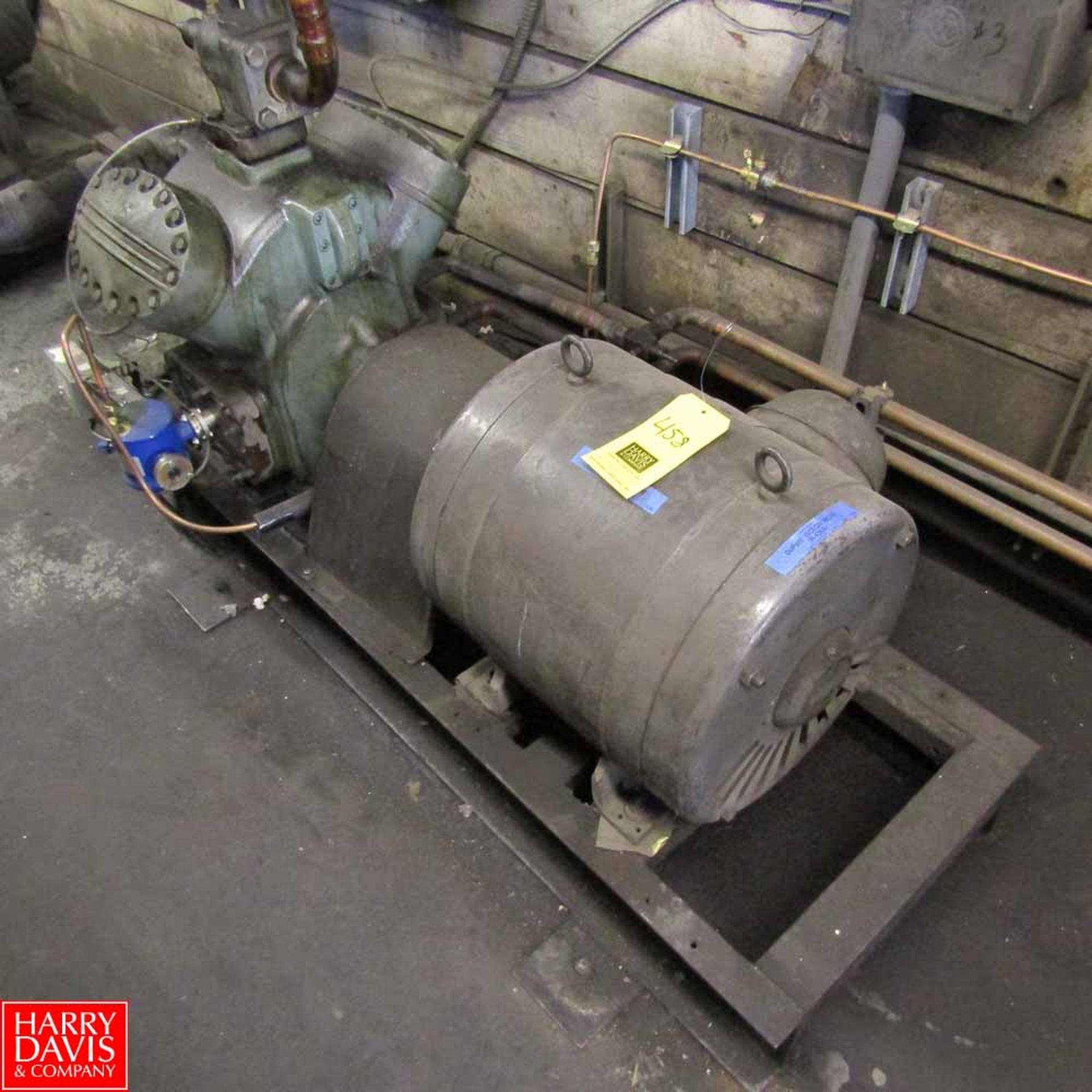 Lot 458 - Carrier Compressor Model 5H40-A219 Rigging Fee: 500