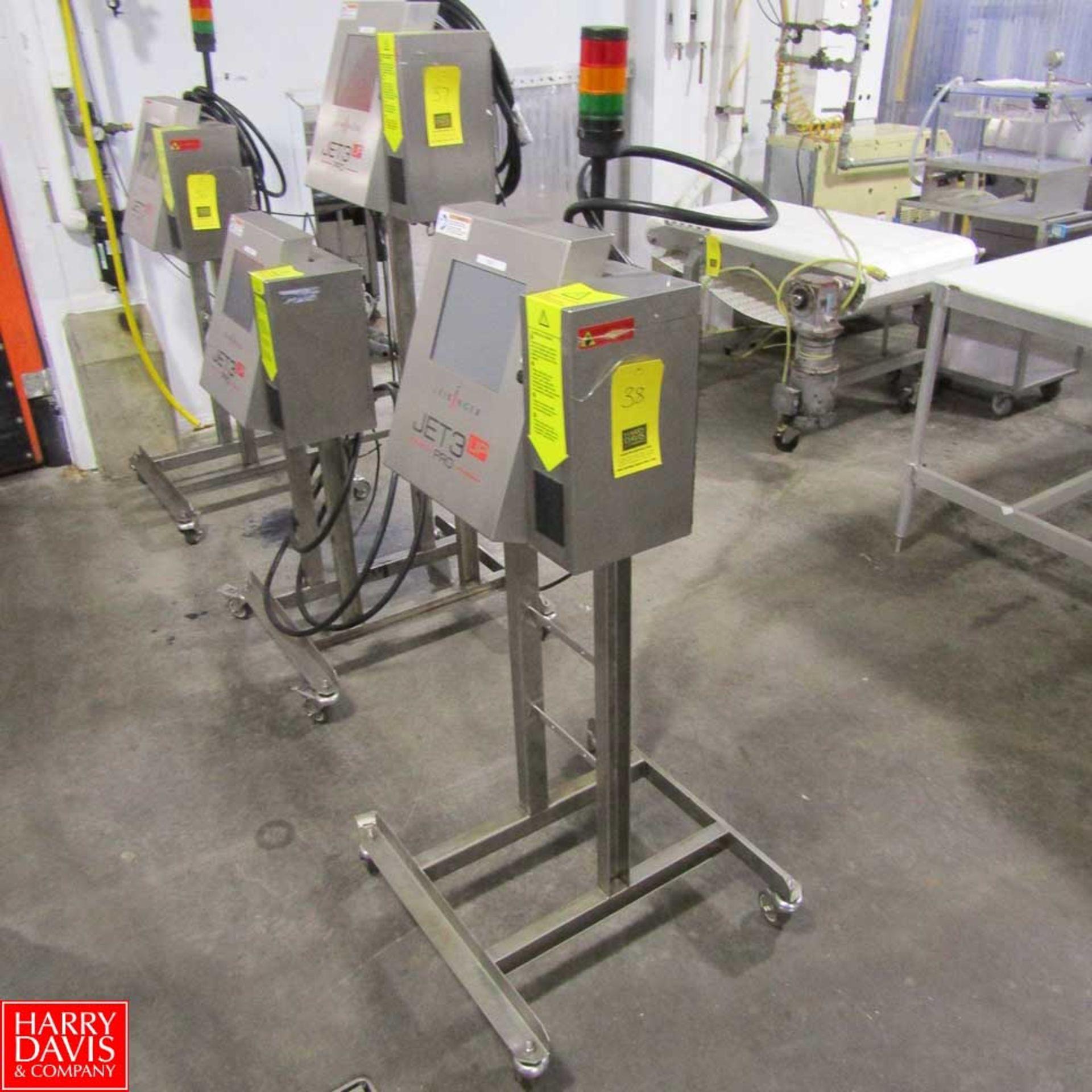 Lot 38 - Leibinger Inkjet Printer Model JET 3 UP PRO : SN LJ-332234 Rigging Fee: 100