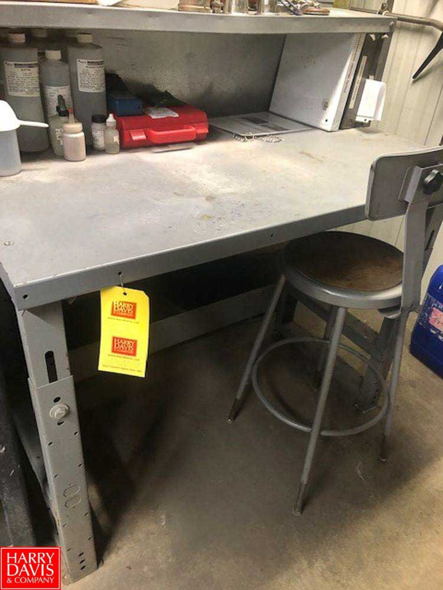 Lot 41 - Workstation with Chair **Rigging Fee = $25
