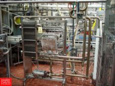 AGC S/S Frame Plate Heat Exchanger WITH FRISTAM PUMP - Rigging Fee: $ 550