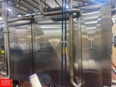 2017 AGC 5,000 GPH Pasteurizer with AGC S/S Frame Plate Heat Exchanger, S/S Balance Tank