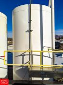 DCI 8,000 Gallon Jacketed S/S Silo **Located in Abrams, Wisconsin - Rigging Fee: $ 1200