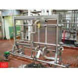 ALFA LAVAL 3-Zone S/S Frame Plate Heat Exchanger Model CLIP-8 - Rigging Fee: $ 950