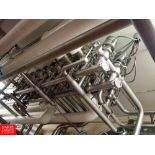 """Tri Clover 361 3"""" Air Valves in MANIFOLD WITH PANEL - Rigging Fee: $ 360"""