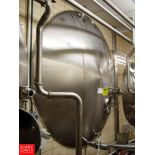 """Cherry Burrell 5,000 Gallon Horizontal Jacketed S/S Tank Model GHW : SN 50-GHW-86-3270, with 3"""""""