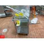 S/S Wash Baskets With Cart - Rigging Fee: $ 100