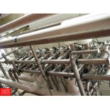 """Tri Clover 361 3"""" Air Valves in MANIFOLD WITH PANEL - Rigging Fee: $ 440"""