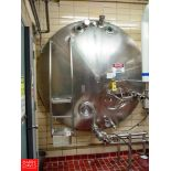 """Cherry Burrell 3,000 Gallon Horizontal Jacketed S/S Tank Model HCW : SN 3000-57-CR7135, with 2"""""""