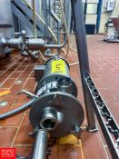 Fristam 5 HP Centrifugal Pump, With 1775 RPM Motor - Rigging Fee: $ 75