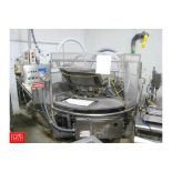 Cryovac Old River 4 Head Rotary Vacuum Packager Model 8610 Rigging Fee: 2,500 Located in Burlingame,