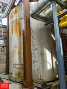 Crepaco 7,000 Gallon Jacketed S/S Silo **Located in Abrams, Wisconsin - Rigging Fee: $ 1200
