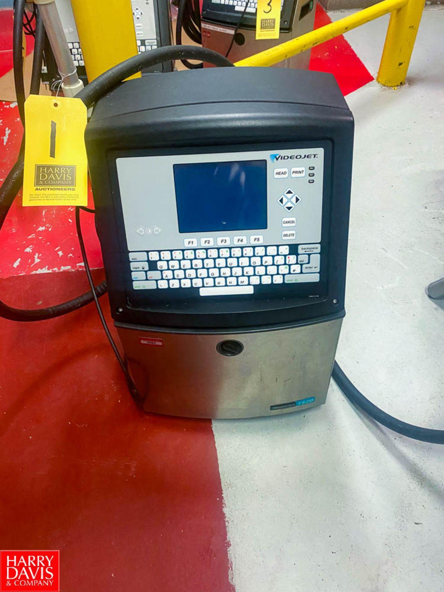 Lot 1 - Video Jet Ink Jet Printer Model: 1520, SN: 1201418C22ZA - Rigging Fee: $ 75