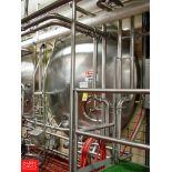 "Cherry Burrell 6,000 Gallon Horizontal Jacketed S/S Tank Model HCW : SN 6000-57-CR7123, 3"" Air"
