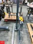 Label Applicator Stand